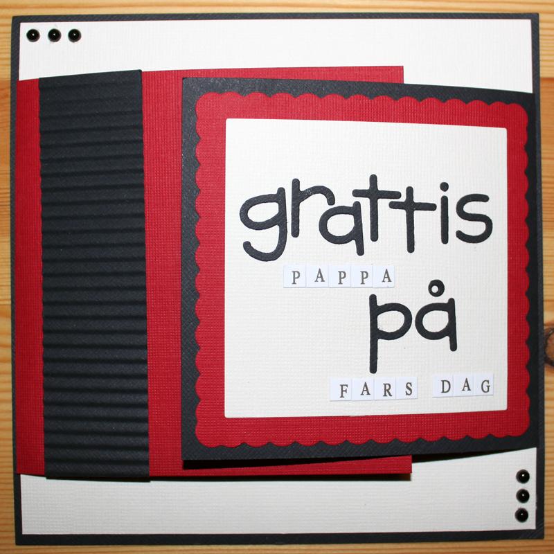 Farsdagskort till pappa 2011