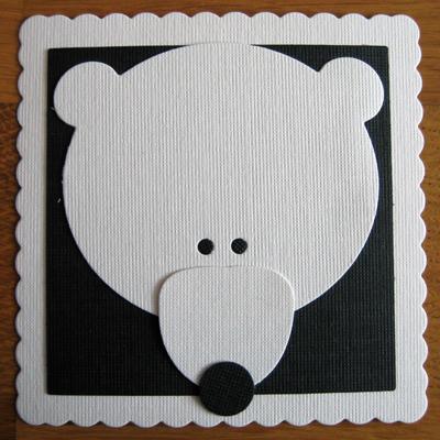 Memorybricka, isbjörn