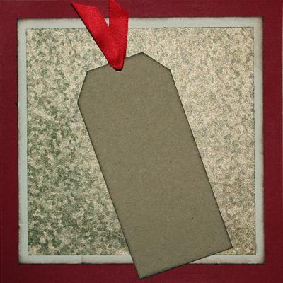 Presentkort - God Jul - höger insida av kortet