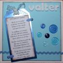 Välkommen Valter, framsidan av kortet