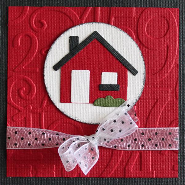 10×10 Nytt hem med hus i rött