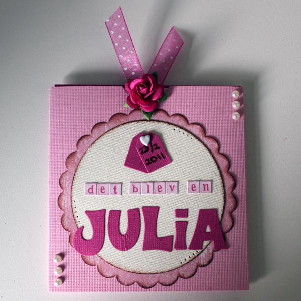 Kort till nyfödd Julia